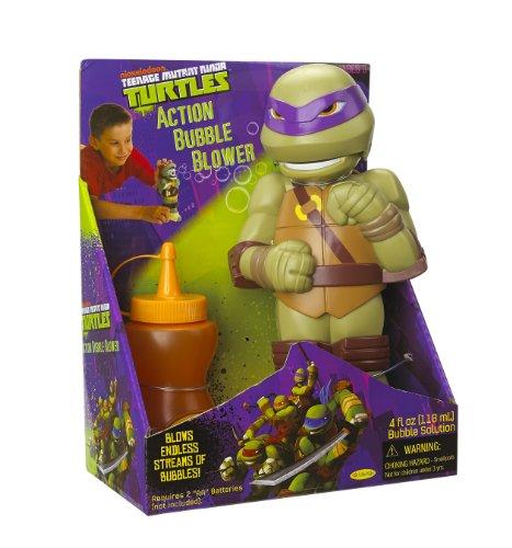 Little Kids Teenage Mutant Ninja Turtles Action Bubble Blower Donatello