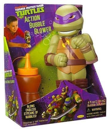 Little Kids Teenage Mutant Ninja Turtles Action Bubble Blowers - Raphael