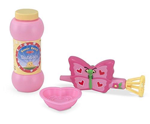 Melissa Doug Sunny Patch Bella Butterfly Bubble Blower
