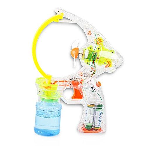 Super Big Bubble Maker Light-up LED Bubble Blower Gun