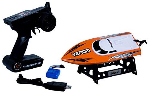 Udirc Venom 24GHz High Speed Remote Control Electric Boat Orange