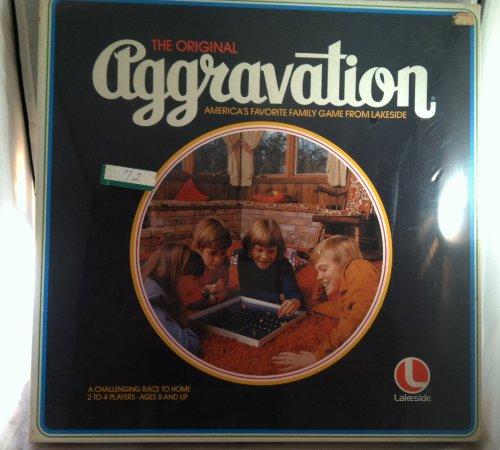 1977 Vintage Aggravation Board Game