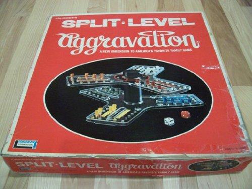 Split Level Aggravation Board Game 1971 Lakeside Games
