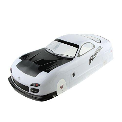 Coolplay 110 PVC Car Body Shell RC Racing Car Accessories for Mazada Rx7