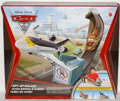 Disney Disney Cars 2 Hot Wheels play set - Spy Jet Escape japan import