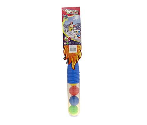 Mozlly Blue Baseball Playset Plastic Baseballs