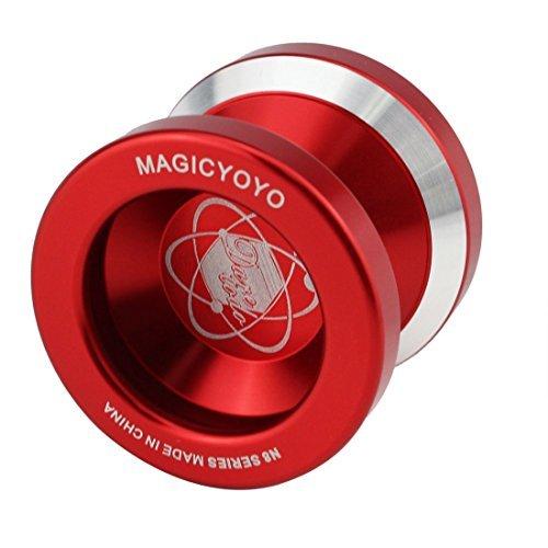 Magic Yo-Yo N8 Super Professional YoYo  String  Free Bag Free Glove Red Color Red Model  Toys Play