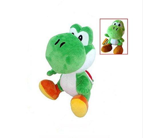 6 Super Mario Yoshi Dragon Plush Doll Soft Childrens Toys Birthday Xmas Gift Green
