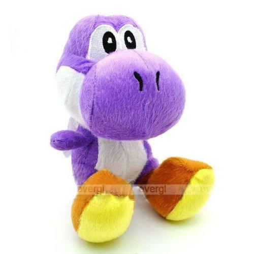 Brand New Super Mario Bros Purple Yoshi Plush
