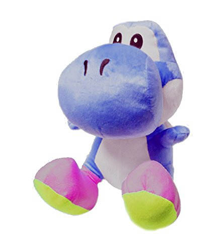 Mario Bro Giant 20-inch Blue Yoshi Plush Doll