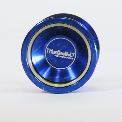 YoYoEmpire Thunderbolt Bi-Metal Yo-Yo - Blue