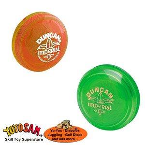 Duncan Imperial Yo-Yo 2-pack - GreenOrange