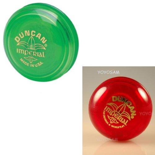 Duncan Imperial Yo-Yo 2-pack - GreenRed