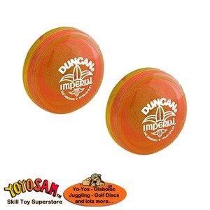 Duncan Imperial Yo-Yo 2-pack - OrangeOrange