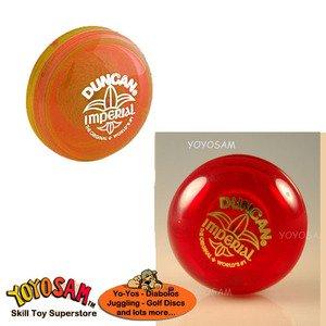 Duncan Imperial Yo-Yo 2-pack - OrangeRed