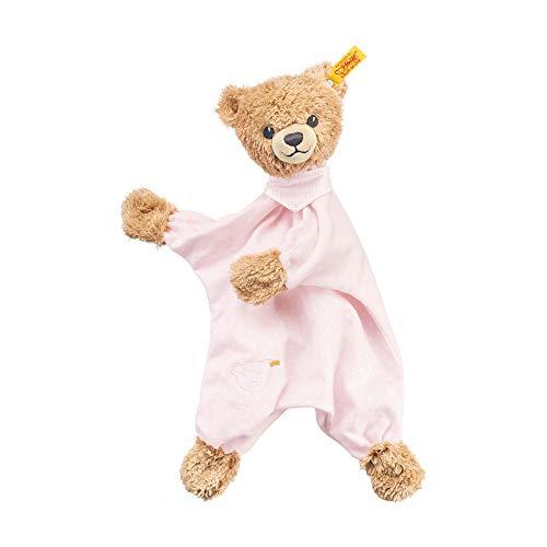 Steiff Sleep Well Bear Comforter Plush Pink
