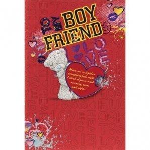 Me to You Tatty Teddy Bear - Valentines Day Card - Boyfriend