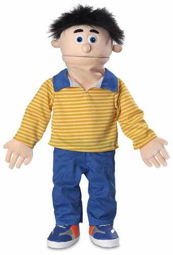Silly Puppets 30 Bobby Peach Boy Professional Performance Puppet with Removable Legs Full or Half Body