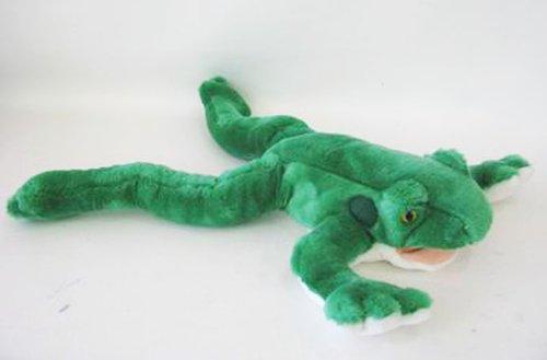 Plush 21 Bull Frog Hand Puppet