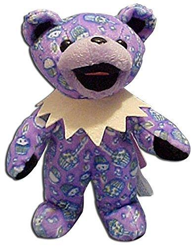 Grateful Dead Bean Bear Birthday Teddy Bear by Grateful Dead