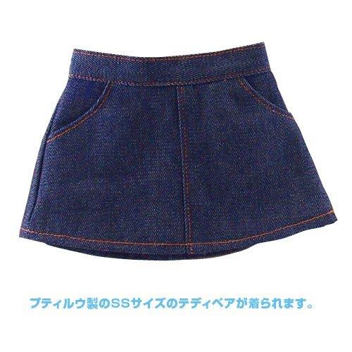 Putiruu Co teddy bear costume SS size denim skirt
