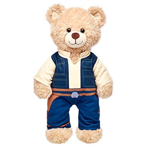 Build a Bear Workshop Star Wars Han Solo Teddy Bear Costume