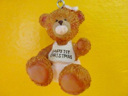 Babys 1st Christmas Teddy Bear Ornament