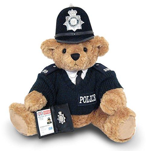 British Bobby Teddy Bear - the Great British Teddy Bear Co by The Great British Teddy Bear Company