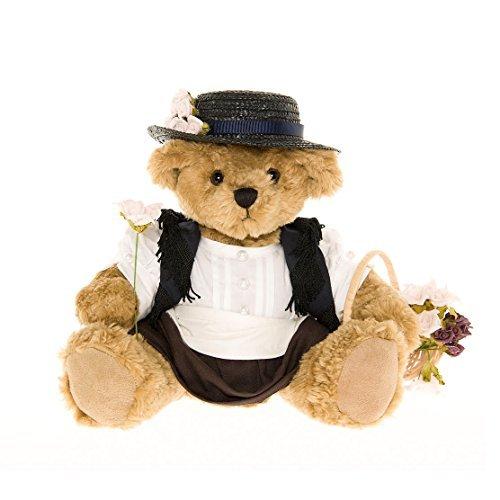 Eliza Doolittle Teddy Bear - the Great British Teddy Bear Co by The Great British Teddy Bear Company