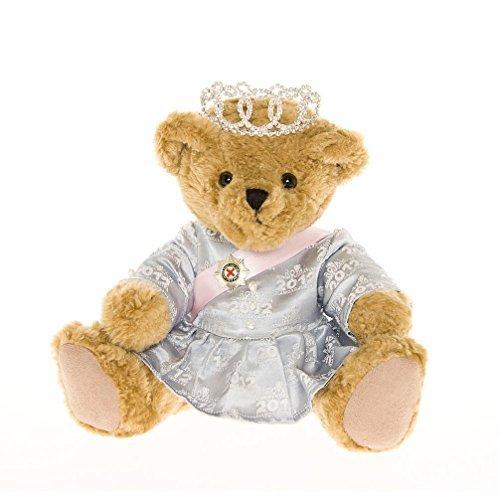 Queen Elizabeth II Diamond Jubilee Teddy Bear - the Great British Teddy Bear co by The Great British Teddy Bear Company