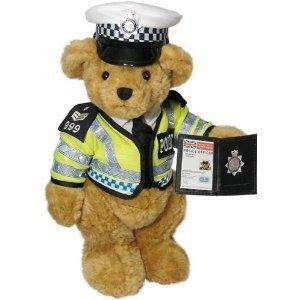 The Traffic Bobby Teddy Bear - the Great British Teddy Bear Co by The Great British Teddy Bear Company