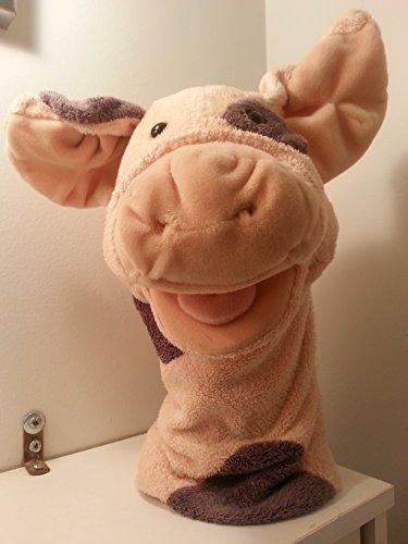 Aurora Pig Hand Puppet OINK Soft Plush Stuffed Animal 13