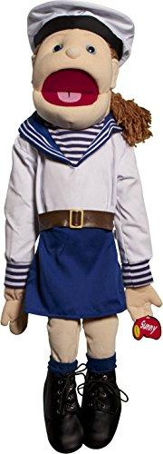 Sunny Toys 28 Girl Sailor Full Body Puppet