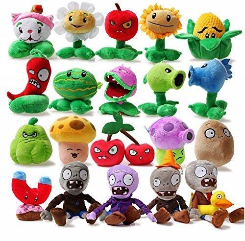 Luk Oil Plants Vs Zombies Plush Toys Plants Vs Zombies Plush Toy 20Pcs Lot 13-18Cm5-7 Inch Tall by Luk Oil