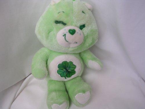 Good Luck Care Bear Plush Toy 13 Collectible  St Patricks Day Irish Stuffed Animal