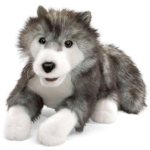 Gray Wolf Hand Puppet