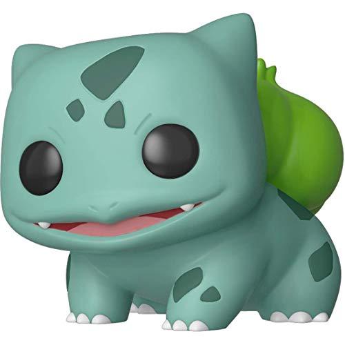 Funko Bulbasaur Pokémon x POP Games Vinyl Figure 1 POP Compatible PET Plastic Graphical Protector Bundle 453  36237 - B