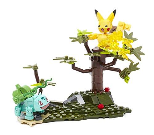 Mega Construx Pokemon Pikachu vs Bulbasaur