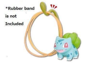 Nintendo Pokemon Oyakudachi XY&Z Desk Accessories Mini Figure~Fushigidane Bulbasaur Bisasam Bulbizarre Rubber Band Stand