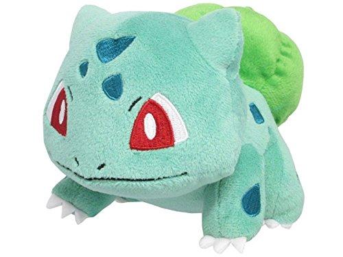 Sanei Pokemon All Star Series PP17 Bulbasaur Stuffed Plush 4
