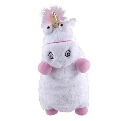 2013 Universal Despicable Me 3D Ride Agnes Fluffy Unicorn Pillow Plush Large 22 Size