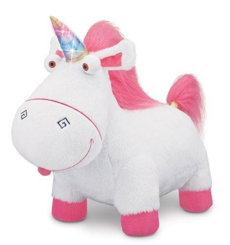 Despicable Me Agnes Fluffy Unicorn Plush by Despicable Me