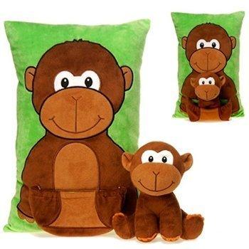 Green Monkey Pillow