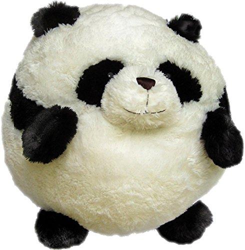 Squishable Panda Plush Black and White Mini 7