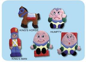 Humpty Dumpty 3-D Felt Finger Puppets