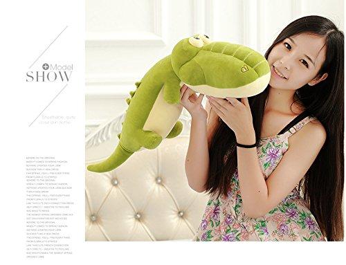 Cute Large Crocodile Plush Toy Stuffed Pillow Toys for Kids Babies 65CM