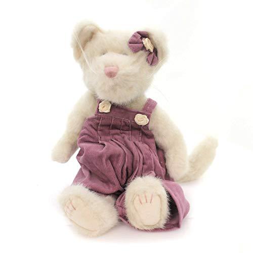 BOYDS BEARS PLUSH KATTELINA PURRSLEY Fabric Cat Kitten Meow 91978