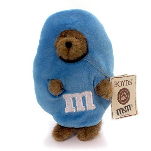 Boyds Bears Plush B M PEEKER Fabric Teddy Bear Peanut M M 919004