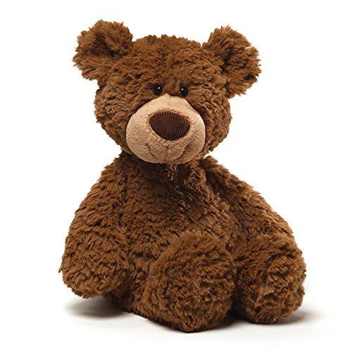 GUND Pinchy Brown Smiling Teddy Bear Plush Stuffed Animal 17