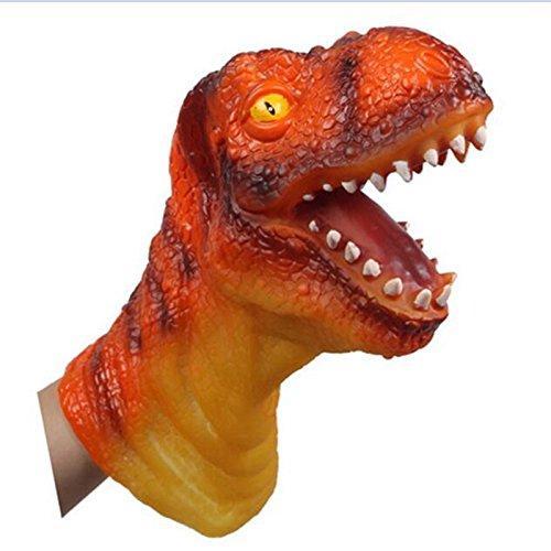 Lanlan Simulation Animal Model Tyrannosaurus Rex Dinosaur Toys Hand Puppet Children Model Toys